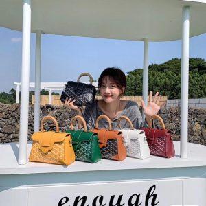 韓國EMO狗牙木手輓枕頭包