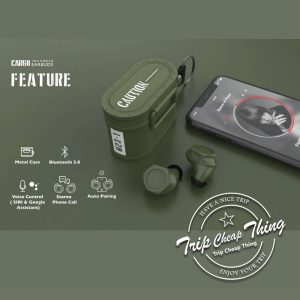 THECOOPIDEA CARGO 真無線藍牙耳機(軍事設計)
