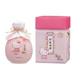 台灣 ~ 醉月 X Hello Kitty 紅茶梅酒(限量款)