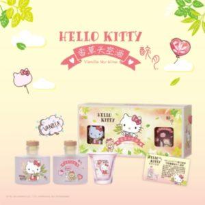 台灣 ~ 醉月 X Hello Kitty 香草天空酒
