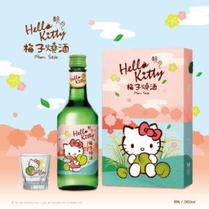 台灣 ~ 醉月 X Hello Kitty 梅子燒酒