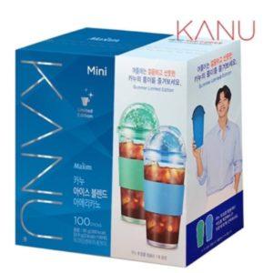 韓國KANU孔劉咖啡美式中焙咖啡100入 附冷水杯(夏季星球限定版)