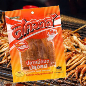 泰國 Greenland 辣味魷魚絲 (11g)