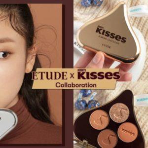 ETUDE HOUSEXHERSHEY'S推出「KISSES巧克力系列」眼影